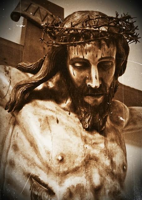 Santo Cristo de la Agonía. Amado Fernández Puente. Real cofradía de Minerva y Vera Cruz. Foto G. Márquez.