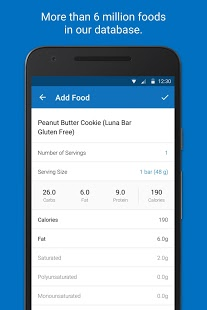 MyFitnessPal Premium v6.7.2 APK for Android