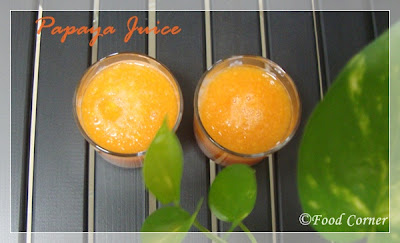 Gaslabu Drink-Papaya Juice with lime