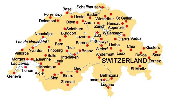 schweiz karta Karl Tiselius: Flytt till Basel, Schweiz, m.m. schweiz karta