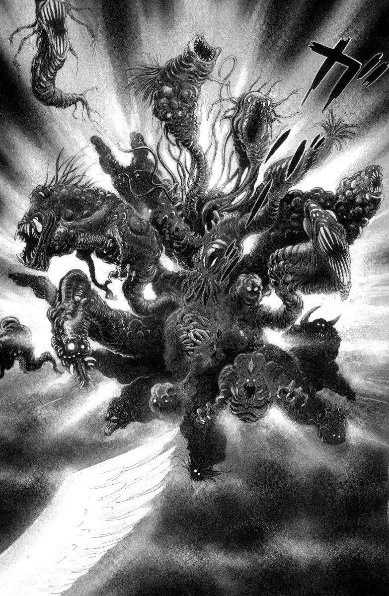 DevilMan chapter 1.1 trang 8