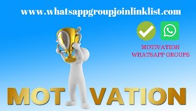 Motivation WhatsApp Group Join Link List