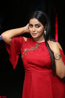 Poorna in Maroon Dress at Rakshasi movie Press meet Cute Pics ~  Exclusive 63.JPG