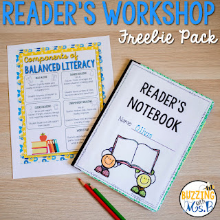 https://www.teacherspayteachers.com/Product/Readers-Workshop-Freebie-Pack-781547