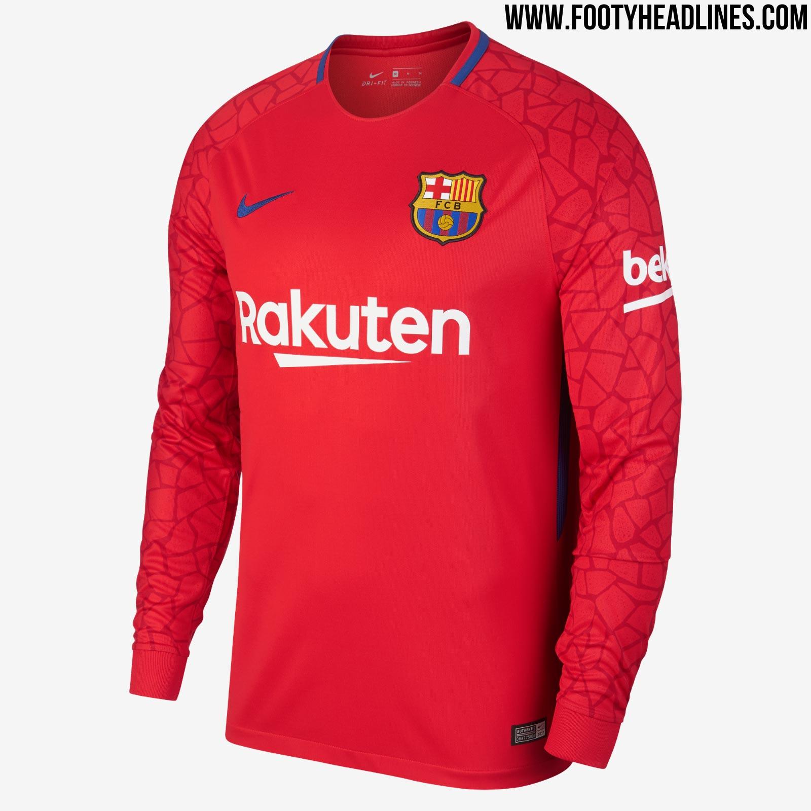 barcelona 17 18 goalkeeper kits revealed footy headlines gk logistics agency sia gk logistics rancho cucamonga