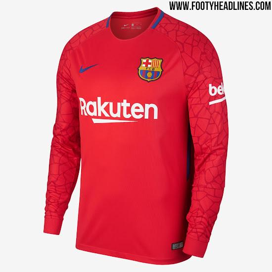 Desvelado el diseño de las camisetas de portero del FC Barcelona 2017 18 6ddf24b49b3