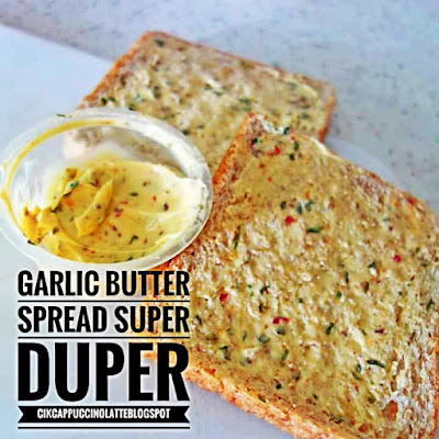 Garlic butter , resepi garlic butter, cara membuat garlic butter, blog resepi, resepi roti , garlic bread, garlic bread garlic butter