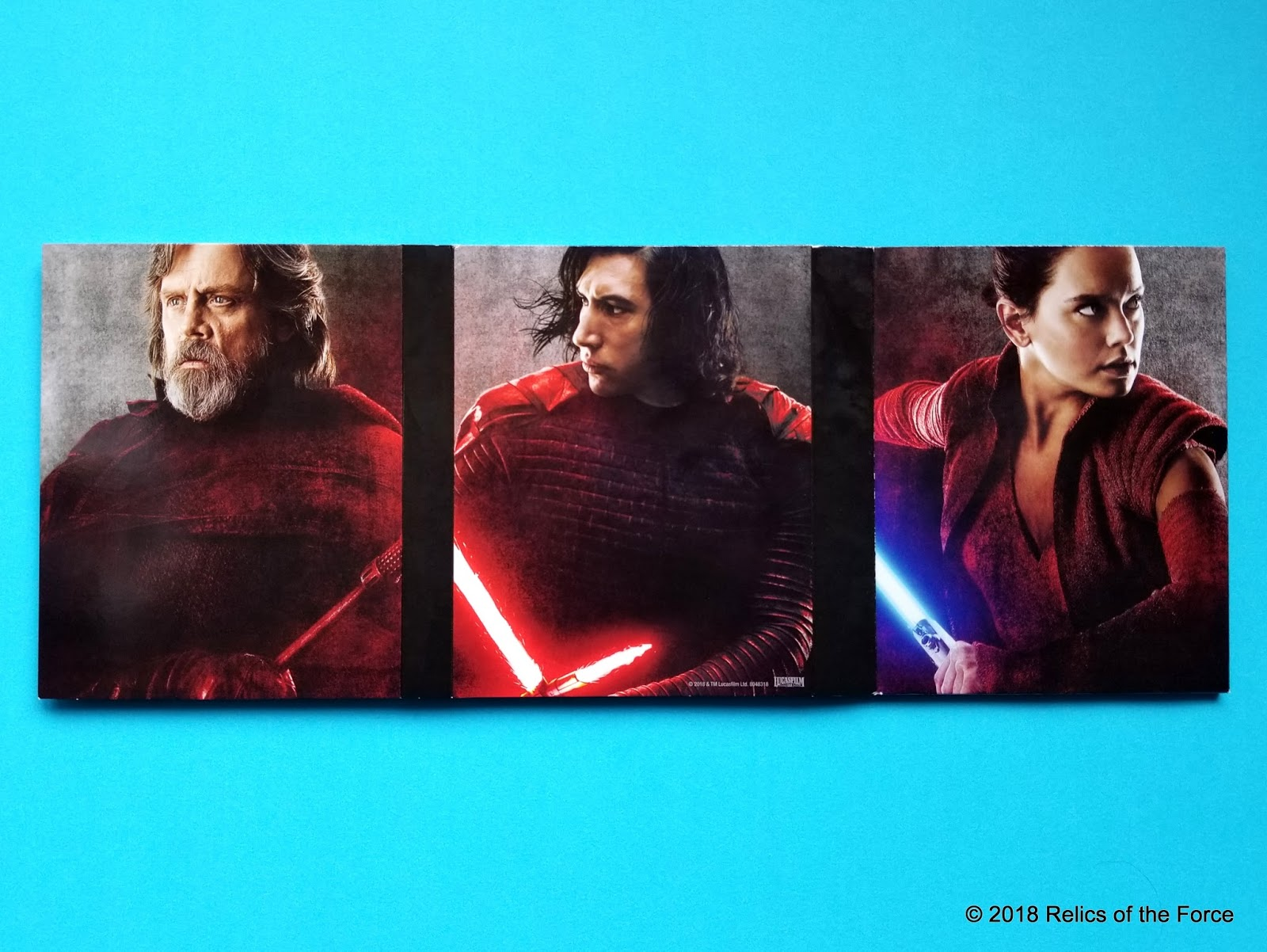 Relics of the Force: The Last Jedi Target Exclusive Blu-Ray and DVD Set