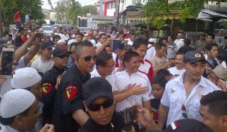 Puluhan Bodyguard Kawal Sandiaga di Paseban