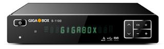 Atualizacao do receptor Gigabox S1100 v