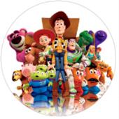 Oblea tarta Toy Story
