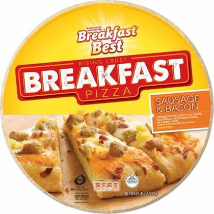If only more pizza places offered breakfast pizzas, I probably wouldn ...