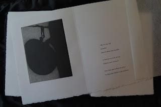 Livre d'artiste Brigitte Maillard Denise Pelletier