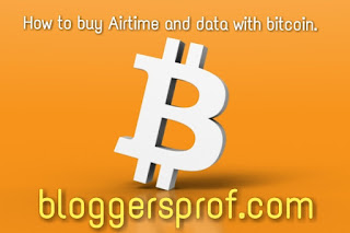 How to purchase/buy Airtime/Data on Any Network In Nigeria with bitcoin