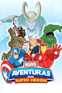 Marvel Aventuras dos Super-Heróis - HDRip Dual Áudio
