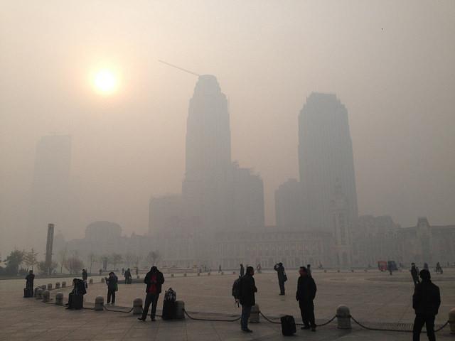 Johan Chen, fotos ciudades contaminadas