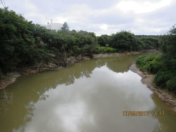 Nivel de alerta para o Rio Canoinhas