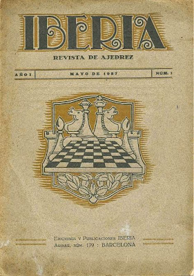 Portada revista Iberia nº 1, mayo de 1927