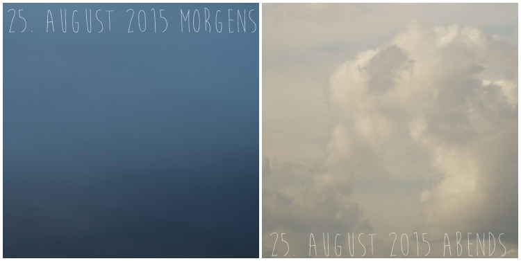 Blog & Fotografie by it's me! - Himmel am 25. August 2015