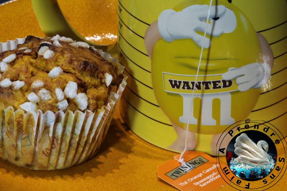Muffins à la citrouille et noix de pécan