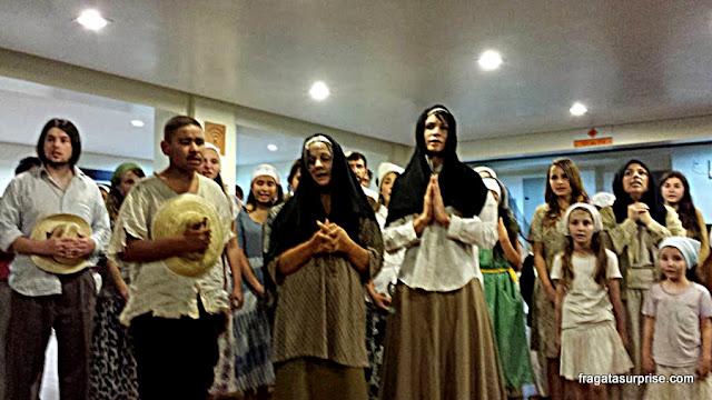 Apresentação da Escola de Teatro e Cinema de União da Vitória