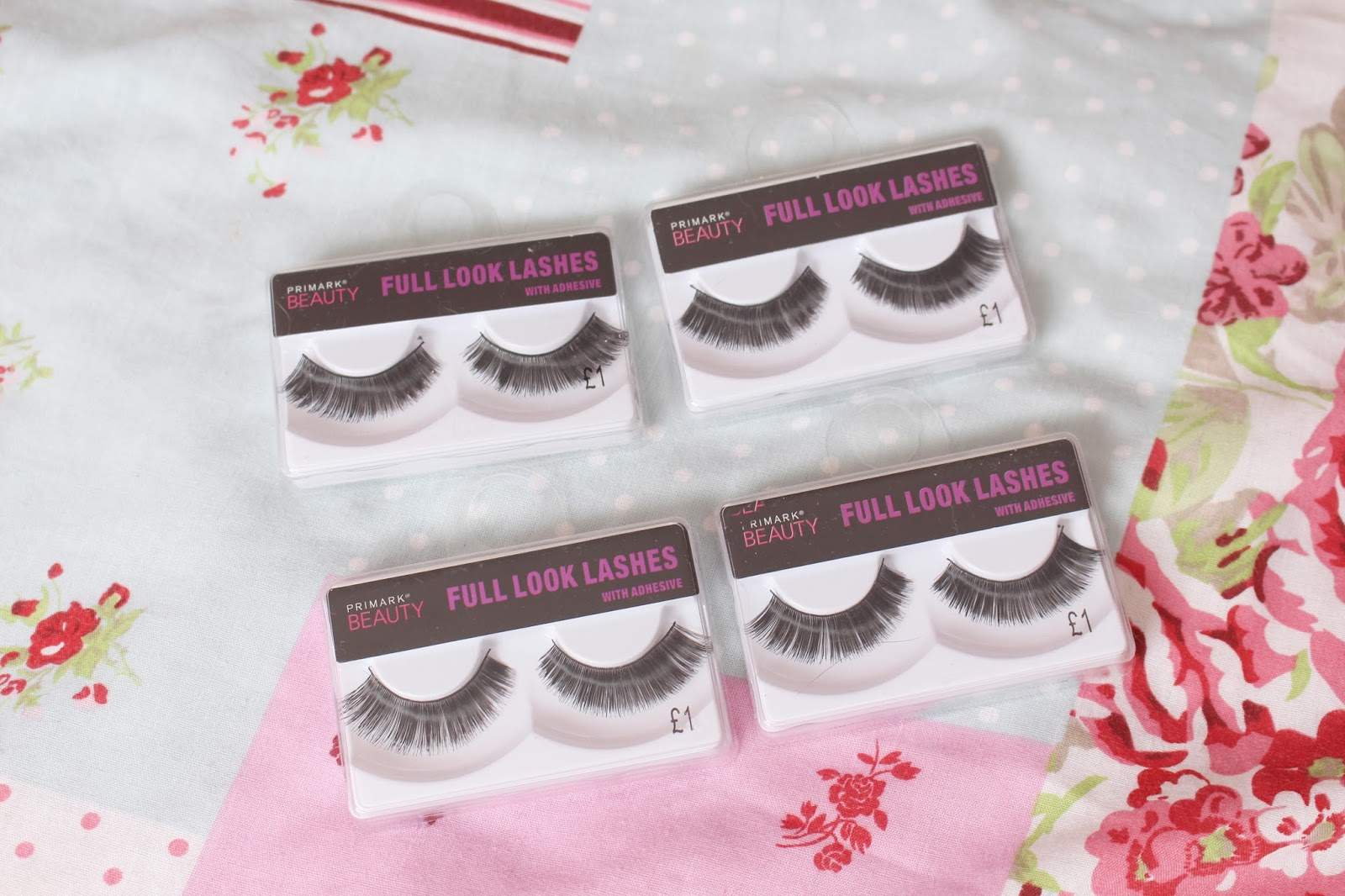 Summer Primark Haul April 2014 Eyelashes