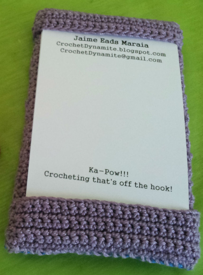 Crochet Dynamite Business Cards