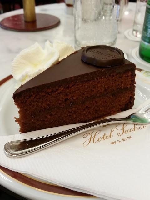 Sacher torte-Café-Hotel Sacher-Vienna