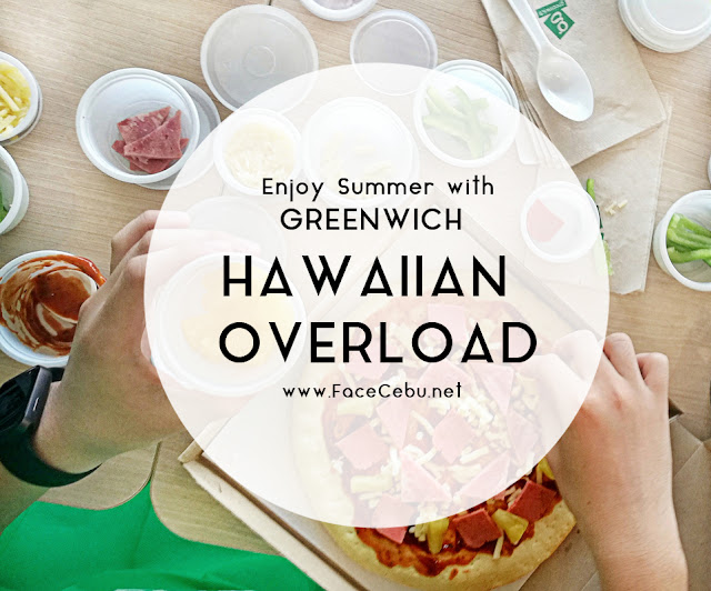 Make Your Own Pizza with Greenwich Hawaiian Overload