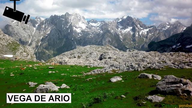 Webcam Refugio de Vega de Ario en Picos de Europa