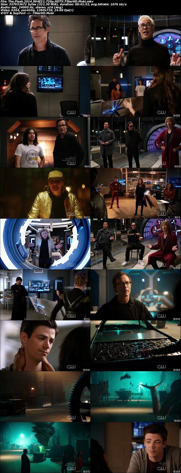 The Flash S04E21 300MB HDTV 720p x264 1