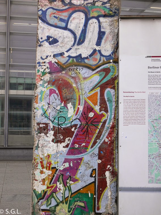 Vista de un trozo de Berlin
