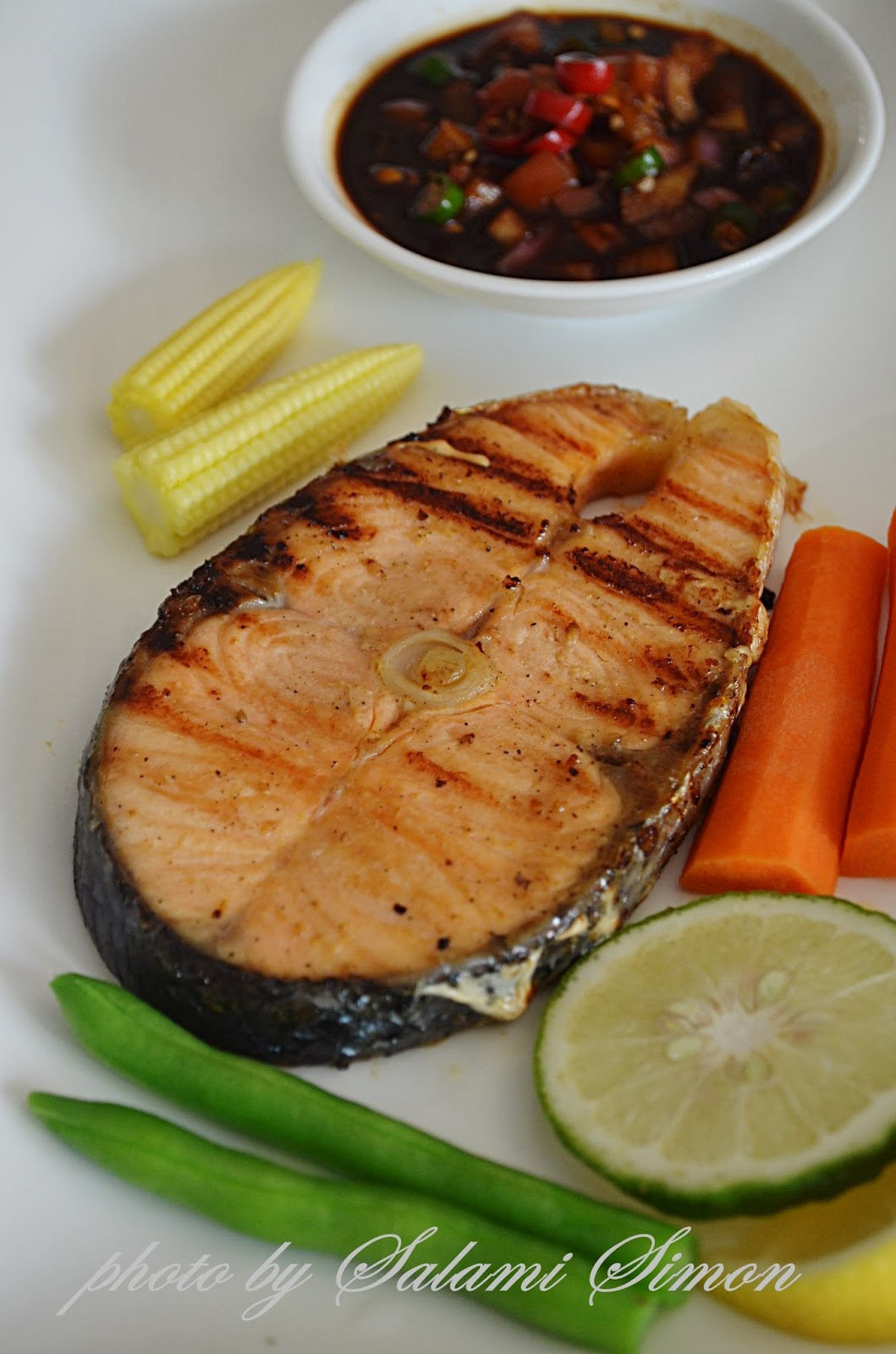 Masakan Ikan Salmon : masakan, salmon, AMIE'S, LITTLE, KITCHEN:, Salmon, Panggang