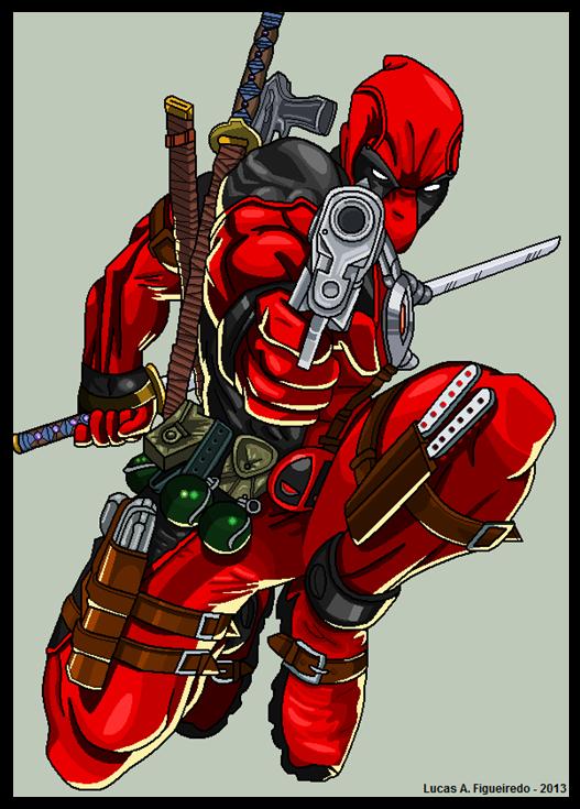 Desenhos Diversos Do Paint Tutorial Deadpool