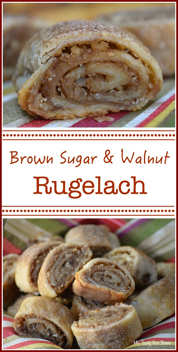Cinnamon Walnut Rugelach - one of my Top Five Pins of 2015! | Ms. Toody Goo Shoes