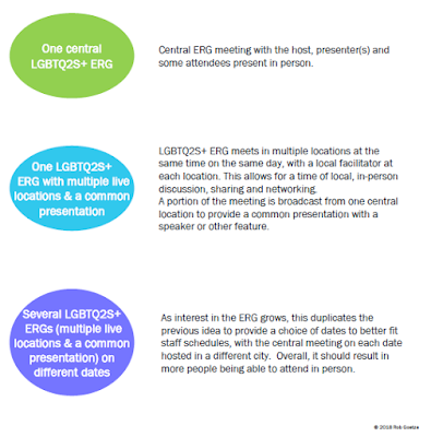 lgbtq2s+ employee resource group structures. diagram by rob goetze. full text in linked pdf