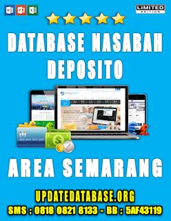 Jual Database Nasabah Deposito Semarang