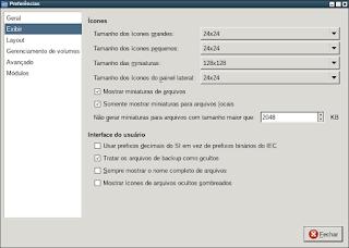PcmanFm substituindo Nitrogen do OpenBox