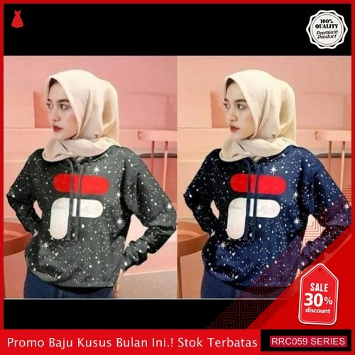 RRC059S42 Sweater Terbaru Hodie Fila Bintang Wanita Terbaru BMGShop