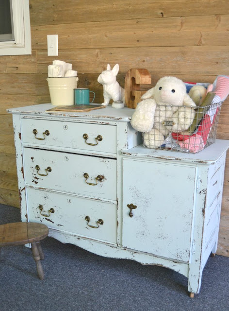 DIY nursery room dresser - my creative days blog