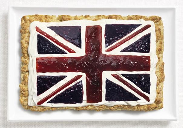флаг Великобритании вкусный