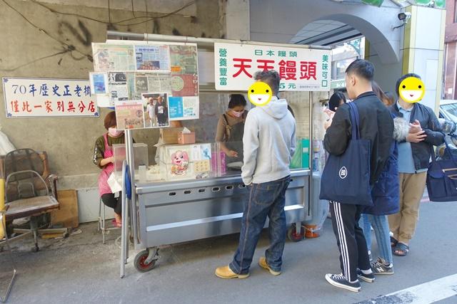 天天饅頭~台中銅板美食70年歷史正老攤、手工現包現炸日本饅頭