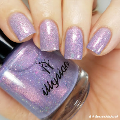 Illyrian Polish Nil Collection Love Potion Swatches and Review