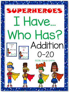 https://www.teacherspayteachers.com/Product/I-Have-Who-Has-Addition-0-20-Superheroes-2546193