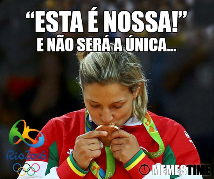 """Memes Time Telma Monteiro Medalha de Bronze – """"Esta é nossa!"""" E não será a única…"""