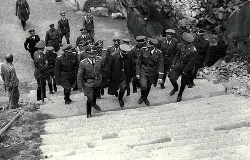 27 April 1941 worldwartwo.filminspector.com Heinrich Himmler Mauthausen