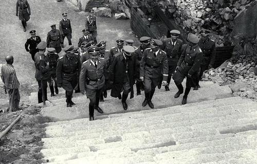 27 April 1941 worldwartwo.filminspector.com Heinrich Himmler Mauthausen