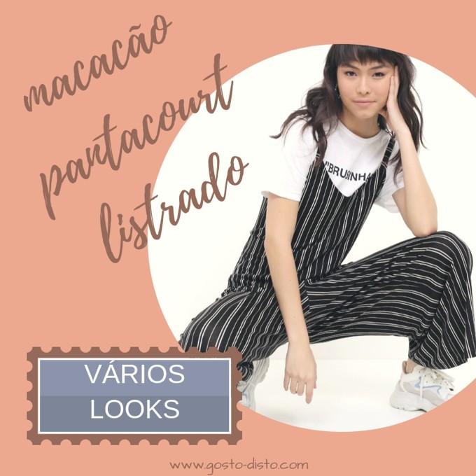 Como usar um macacão pantacourt listrado em vários looks