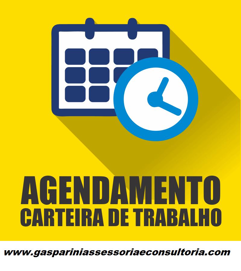 ... para anotação do registro na carteira de trabalho. Antes deve-se  agendar através do  link,http   saaweb.mte.gov.br inter saa pages agendamento main.seam, 72d24fb458