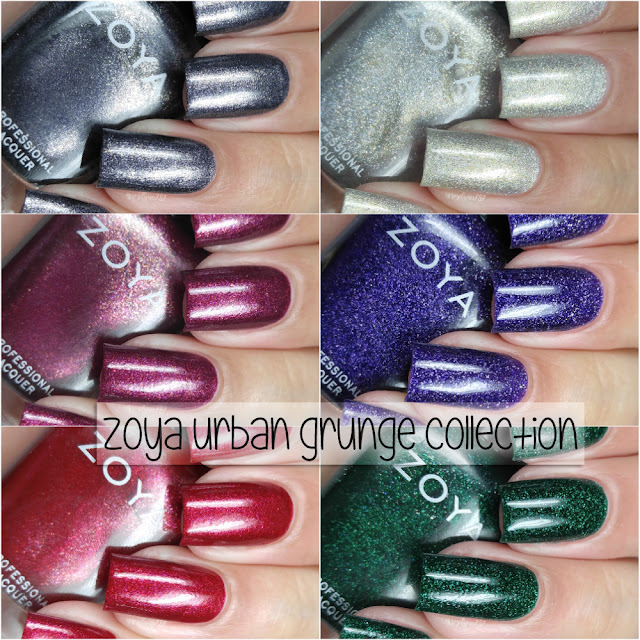 Zoya - Urban Grunge Metallics Fall 2016 Collection
